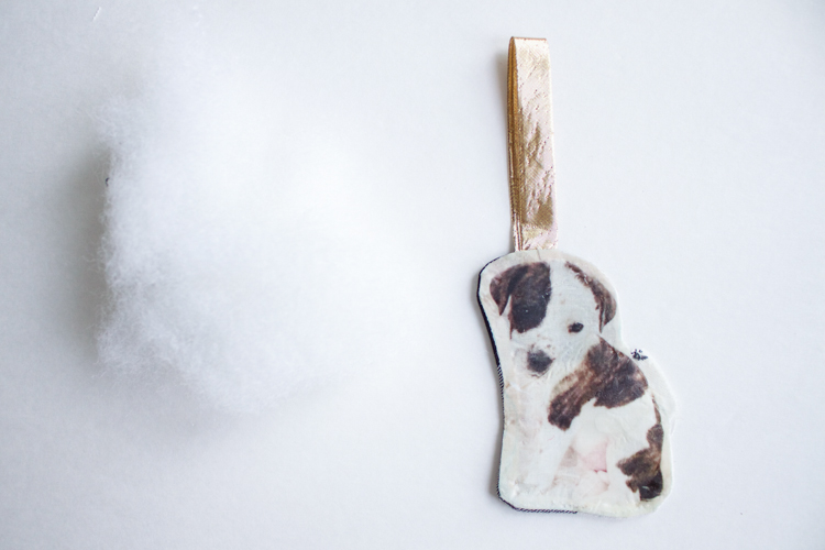 DIY Pet Ornament- One Little Minute Blog-7