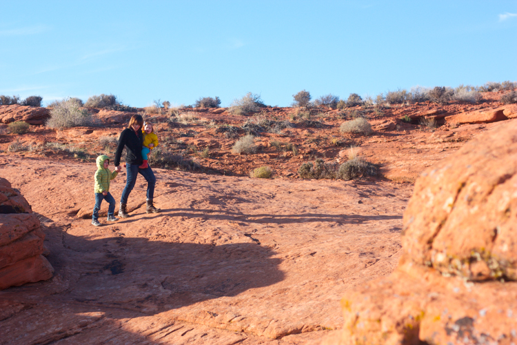 Outdoors with Kids in Winter- One Little Minute Blog-4