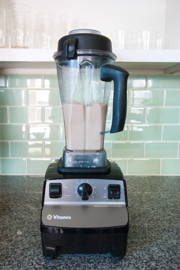 Choconanutttermallow Ice Cream Recipe- One Little Minute Blog-4