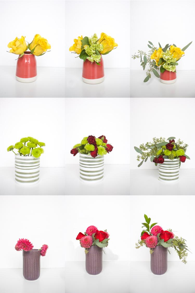 DIY Flower Arrangement-onelittleminuteblog.com