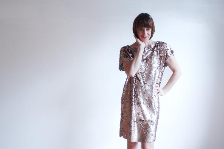 Great Gatsby Dress DIY - One Little Minute Blog 1