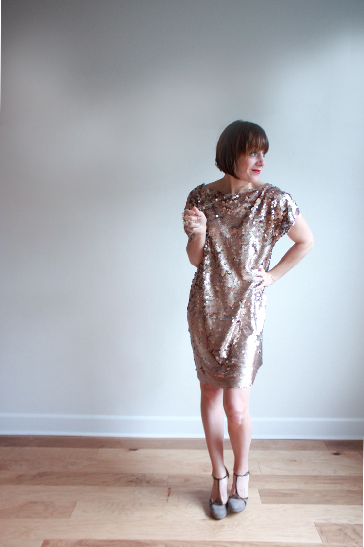 Great Gatsby Dress DIY - One Little Minute Blog 10