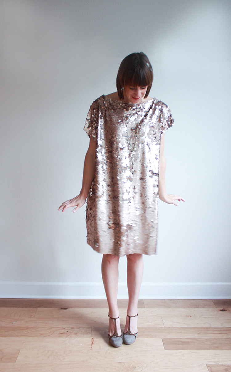 Great Gatsby Dress DIY - One Little Minute Blog 6