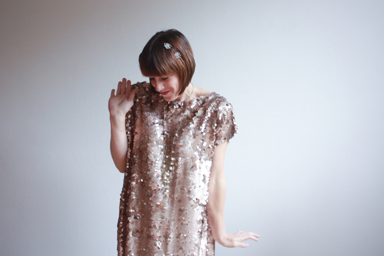 Great Gatsby Dress DIY - One Little Minute Blog