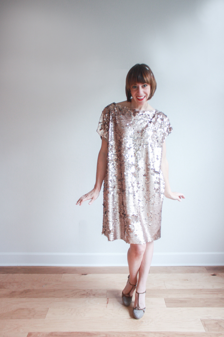 Great Gatsby Dress DIY - One Little Minute Blog2