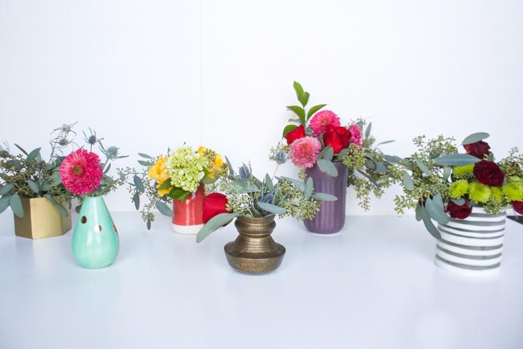 Grocery Store Flower Arrangement DIY-One Little Minute Blog-17