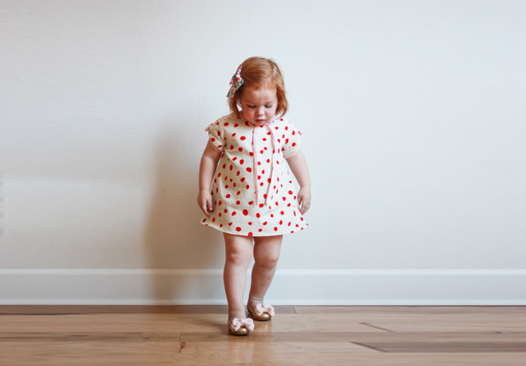 Valentine's Day Dress - One Little Minute Blog-15