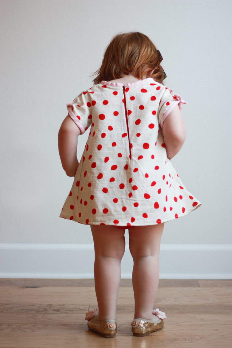 Valentine's Day Dress - One Little Minute Blog-6