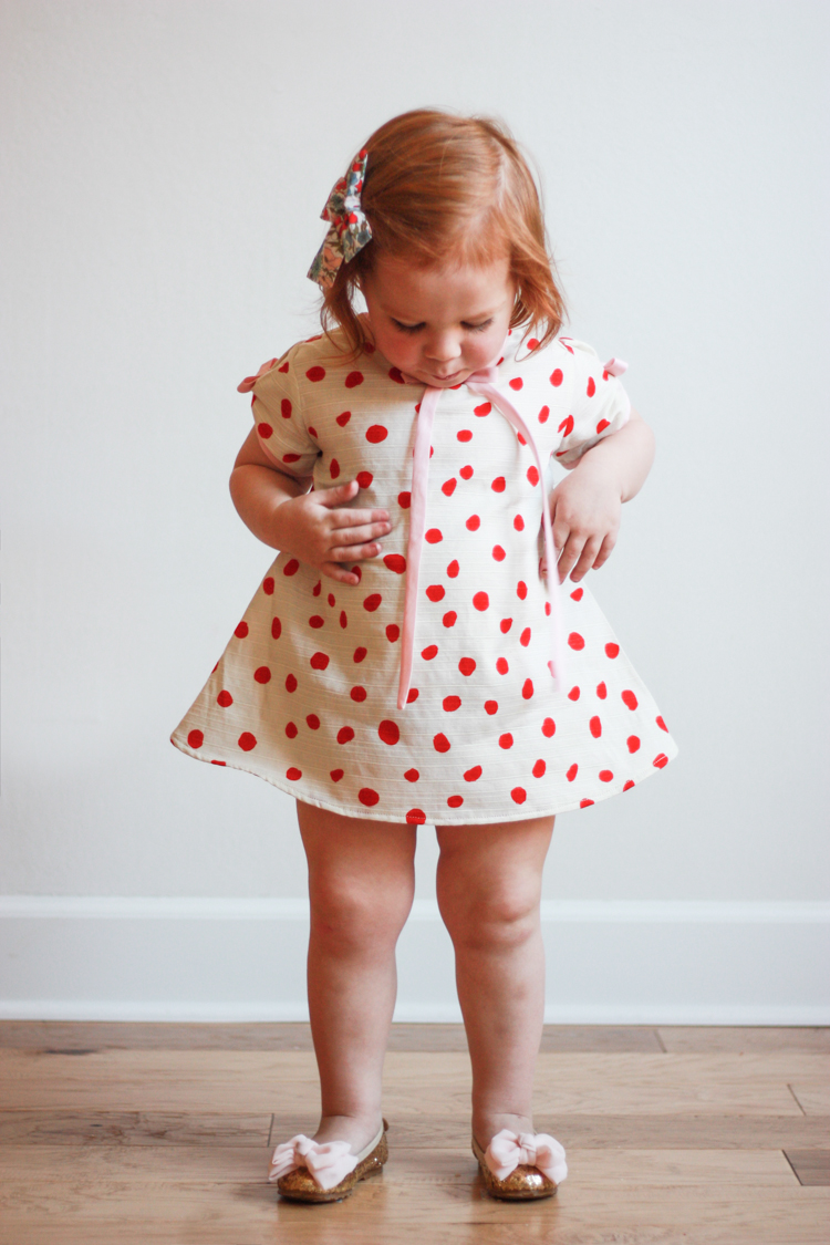 Valentine's Day Dress - One Little Minute Blog-7