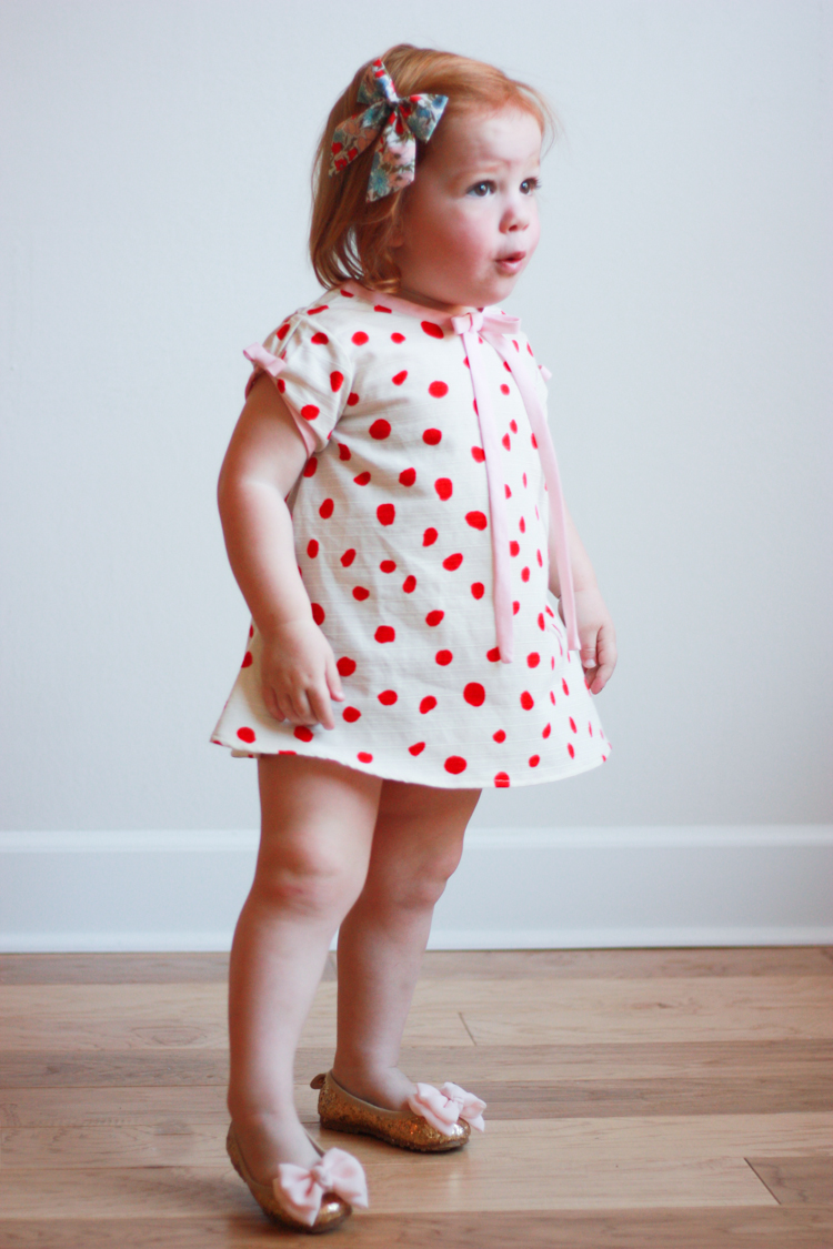 Valentine's Day Dress - One Little Minute Blog-9
