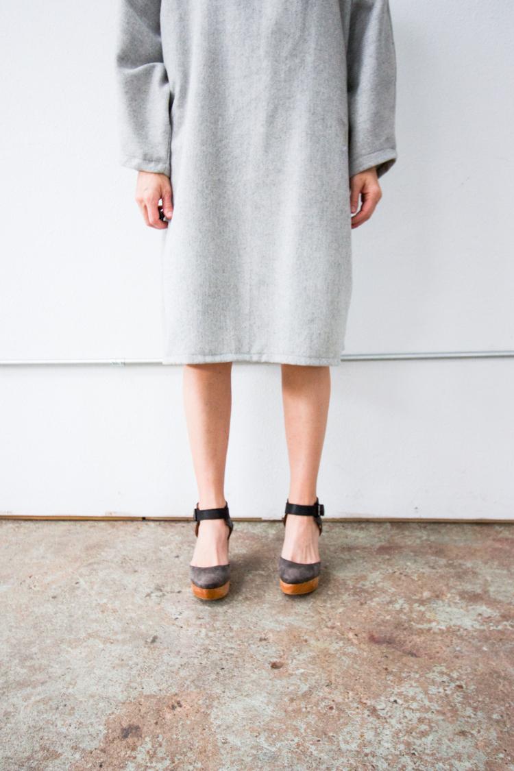 Vogue Inspired Dolman Dress-One Little Minute Blog-4