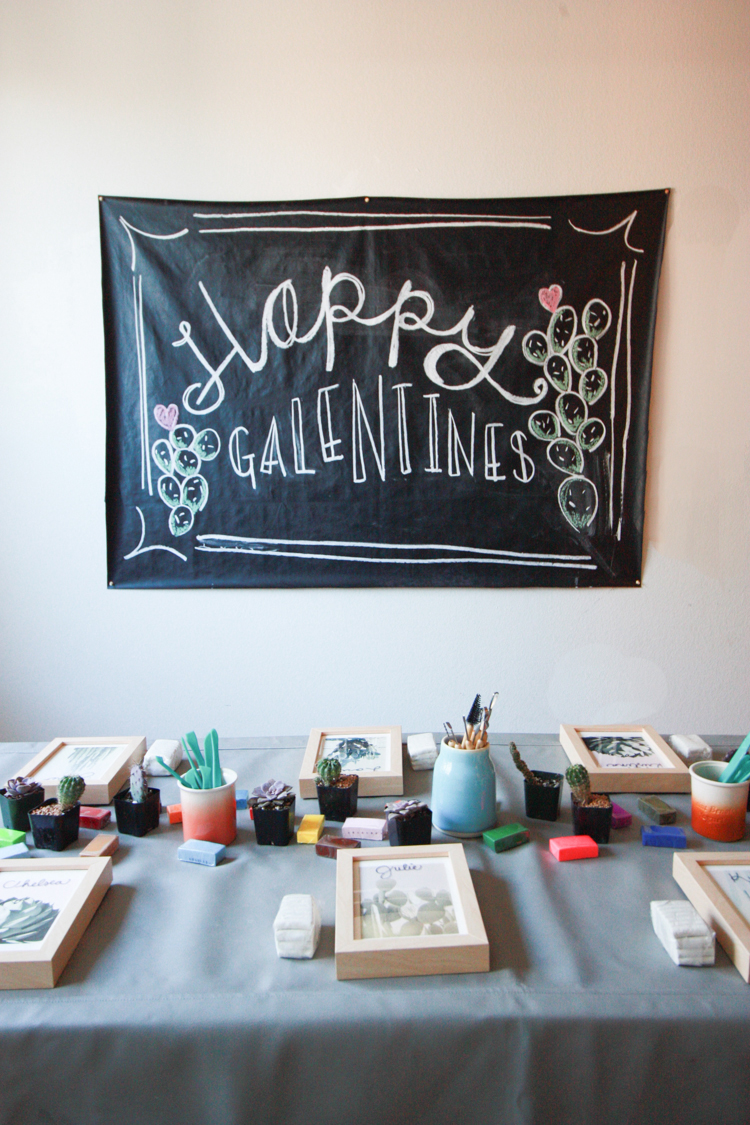 brunch and craft galentines party- One Little Minute Blog-20