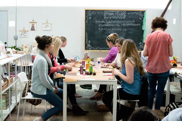 #MunchkinMakerMamas Workshop- One Little Minute Blog-19