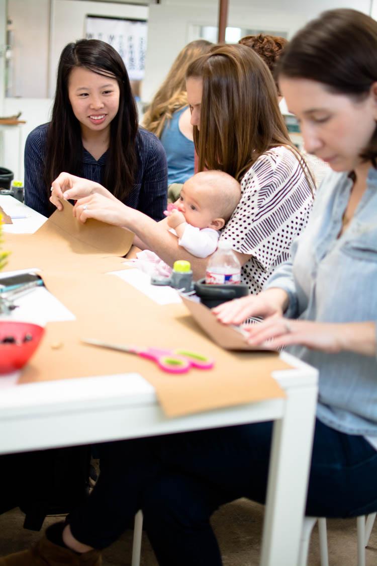 #MunchkinMakerMamas Workshop- One Little Minute Blog-22
