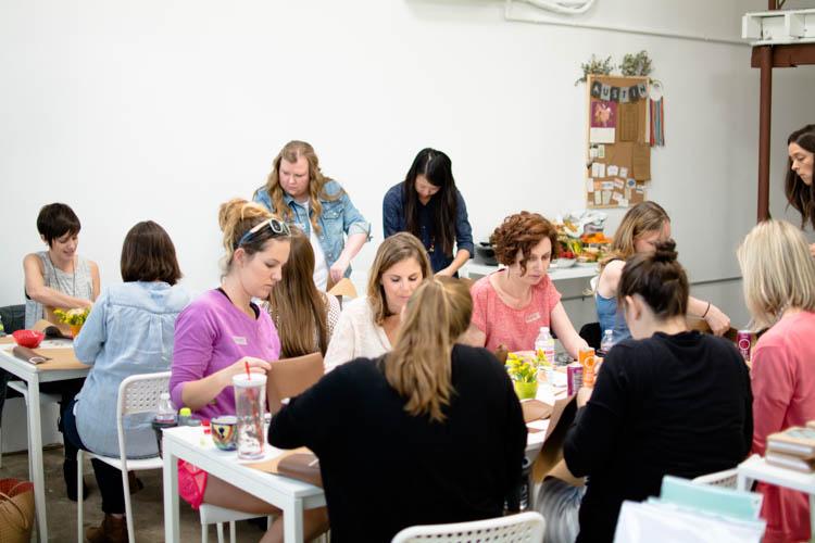 #MunchkinMakerMamas Workshop- One Little Minute Blog-23