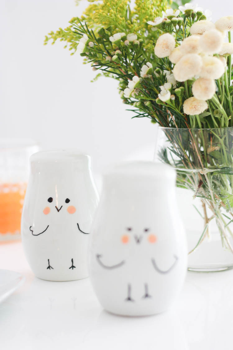 Simple Easter Doodle Ceramics- One Little Minute Blog-10