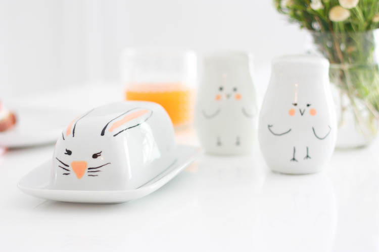 Simple Easter Doodle Ceramics- One Little Minute Blog-11