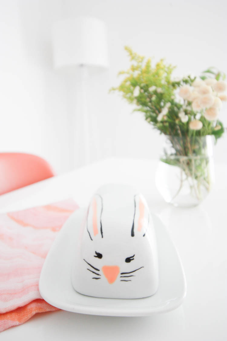 Simple Easter Doodle Ceramics- One Little Minute Blog-3