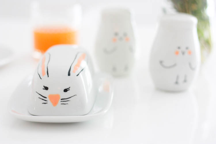Simple Easter Doodle Ceramics- One Little Minute Blog-8