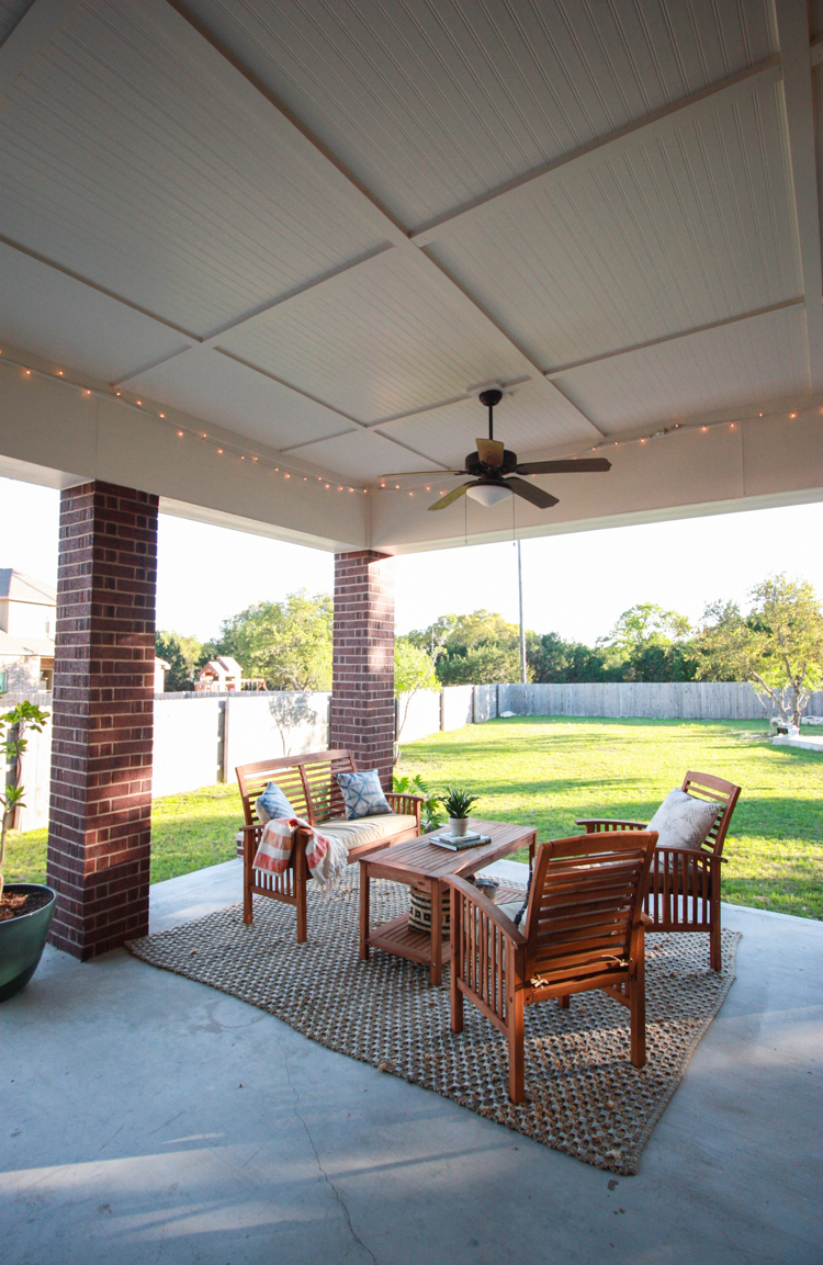 Bringing Inside Out to the Patio- One Little Minute Blog-15