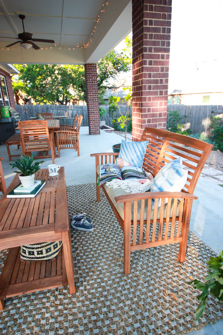 Bringing Inside Out to the Patio- One Little Minute Blog-16