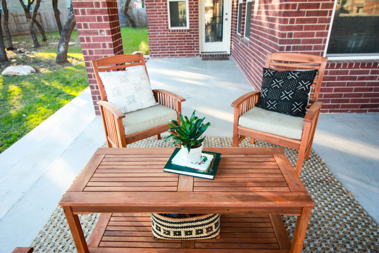 Bringing Inside Out to the Patio- One Little Minute Blog-17
