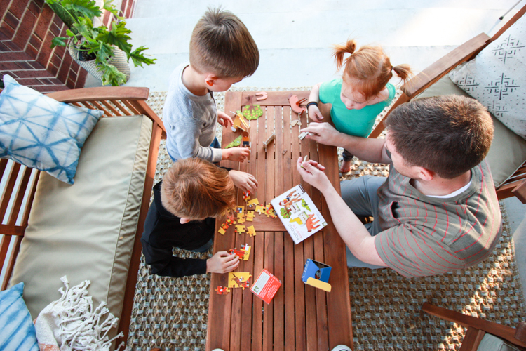 Bringing Inside Out to the Patio- One Little Minute Blog-23