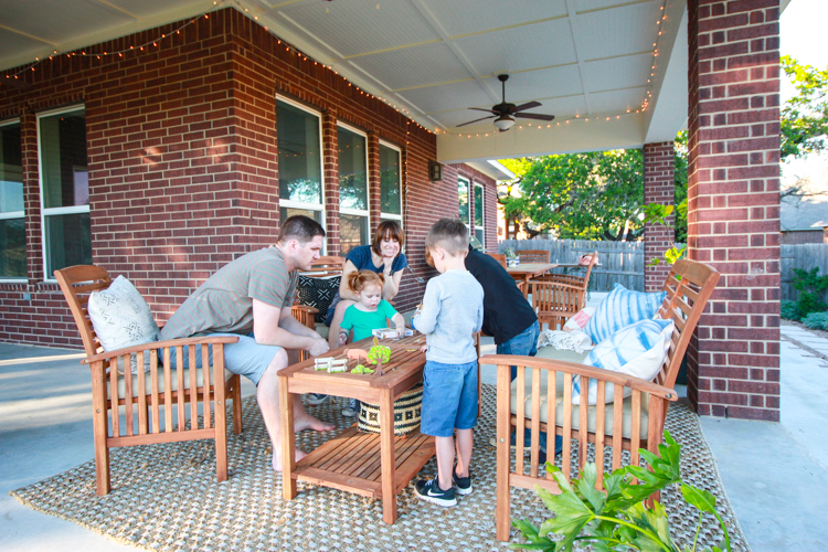 Bringing Inside Out to the Patio- One Little Minute Blog-24