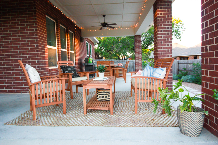 Bringing Inside Out to the Patio- One Little Minute Blog-28
