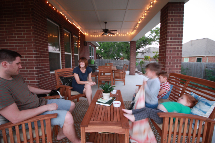 Bringing Inside Out to the Patio- One Little Minute Blog-35