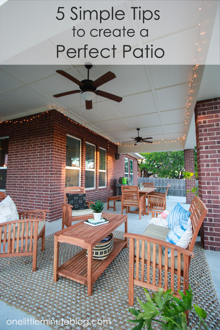 Tips For Creating A Perfect Patio Live Free Creative Co - Out on the patio