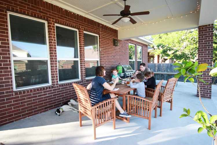 Bringing Inside Out to the Patio- One Little Minute Blog-9