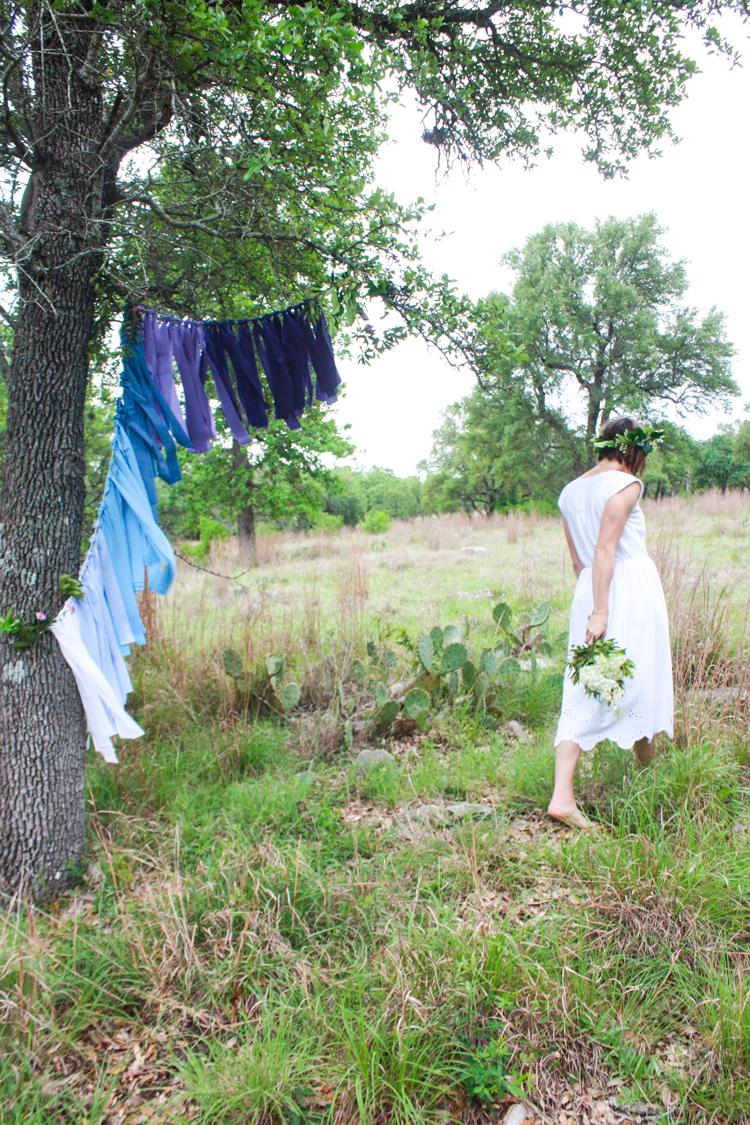 DIY Ombre Fabric Strip Banner- Miranda Anderson-11
