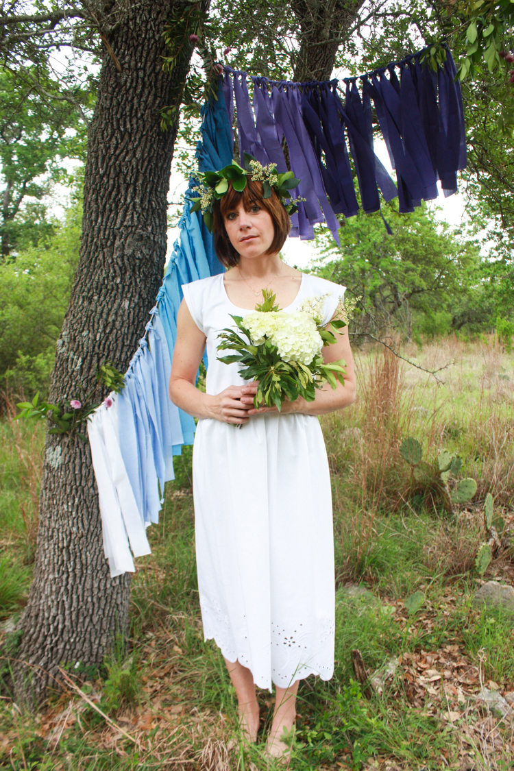 DIY Ombre Fabric Strip Banner- Miranda Anderson-15