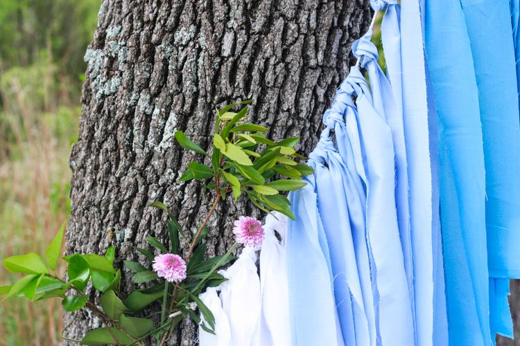 DIY Ombre Fabric Strip Banner- Miranda Anderson-4