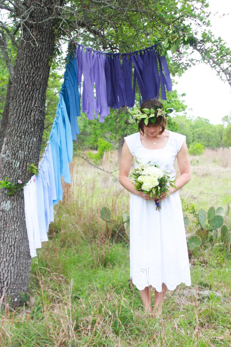 DIY Ombre Fabric Strip Banner- Miranda Anderson-7