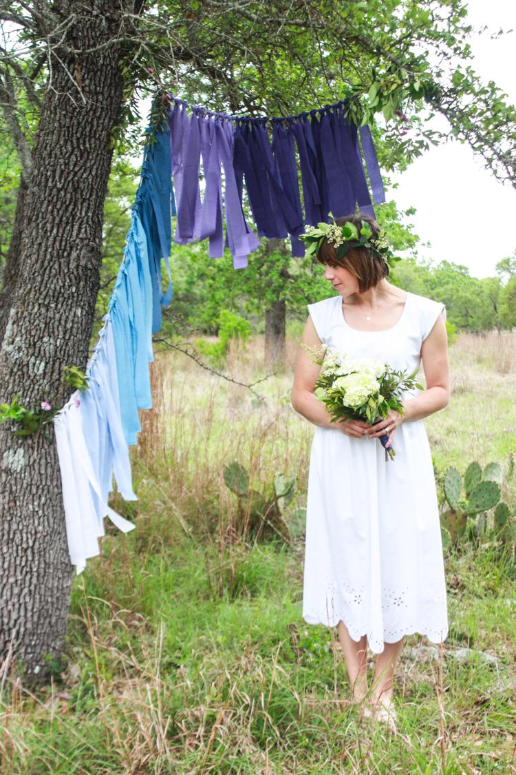 DIY Ombre Fabric Strip Banner- Miranda Anderson-9