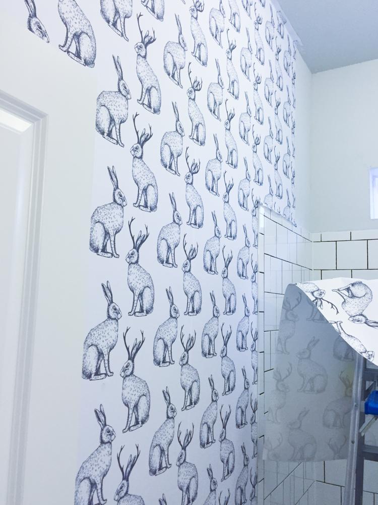 Jackalope Wallpaper- One Little Minute Blog-1
