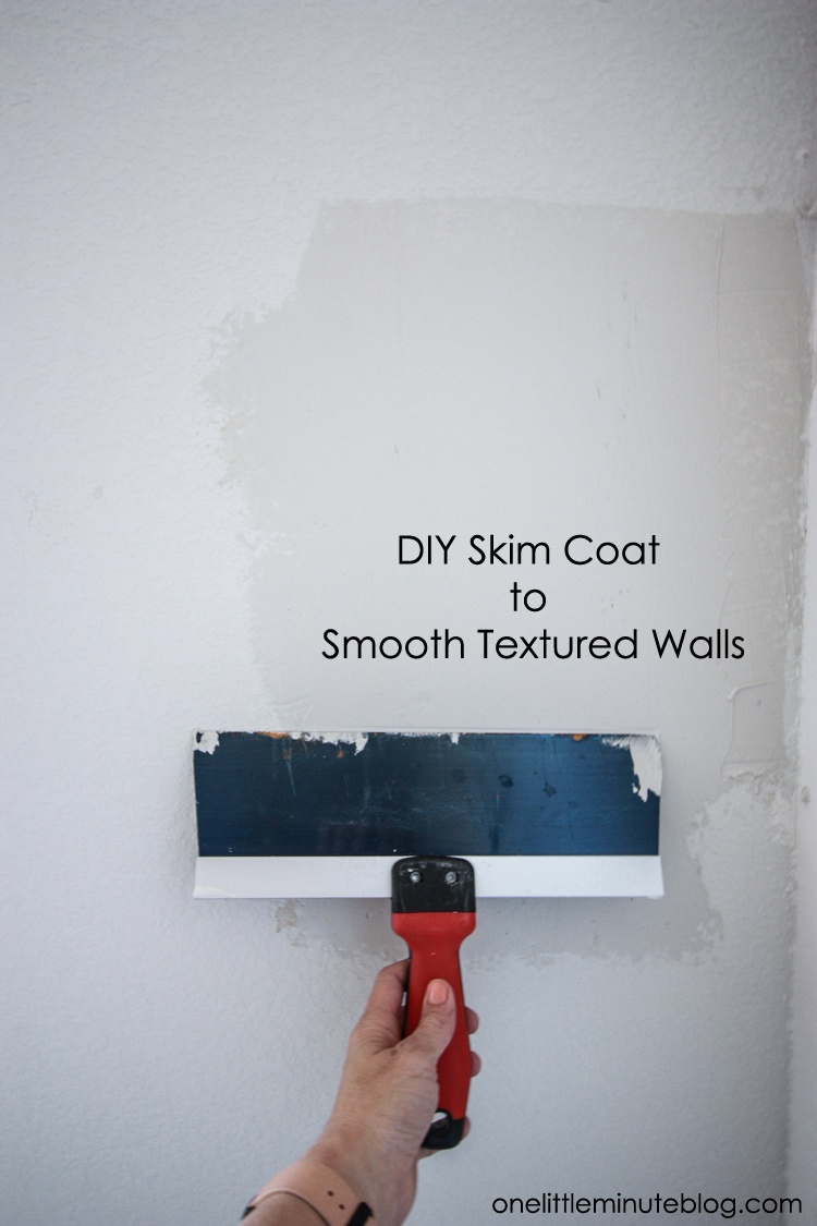 Jackalope Wallpaper over Textured Walls- One Little Minute Blog-11