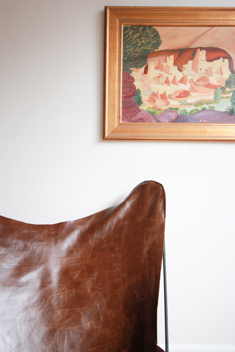 Leather Butterfly Chair Cover DIY- One Little Minute Blog-15