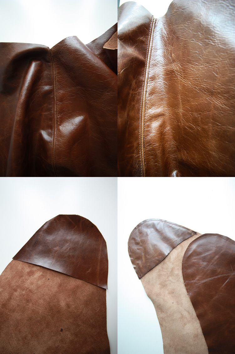 Leather Butterfly Chair Cover DIY. So Simple.-One Little Minute Blog