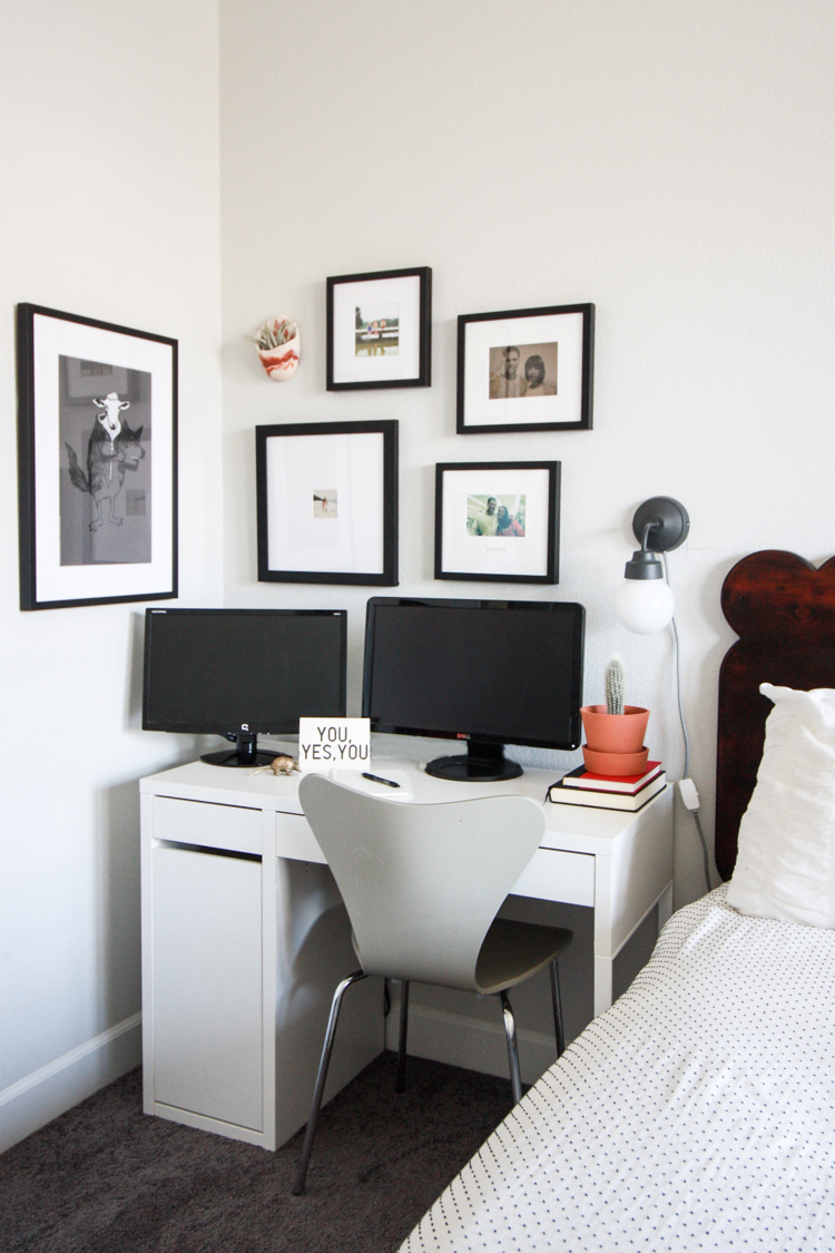 master bedroom office. small office in master bedroom -- father\u0027s day with framebridge- one little minute blog e