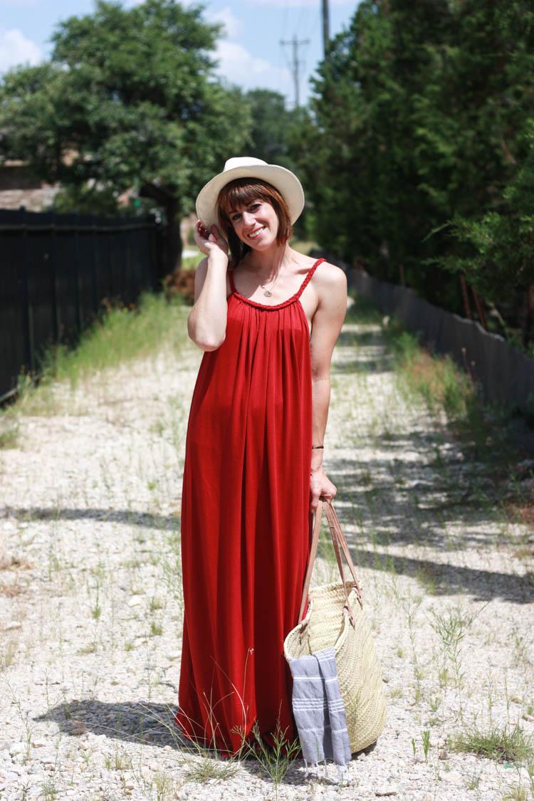 Braided Boho Sundress- One Little Minute Blog-1