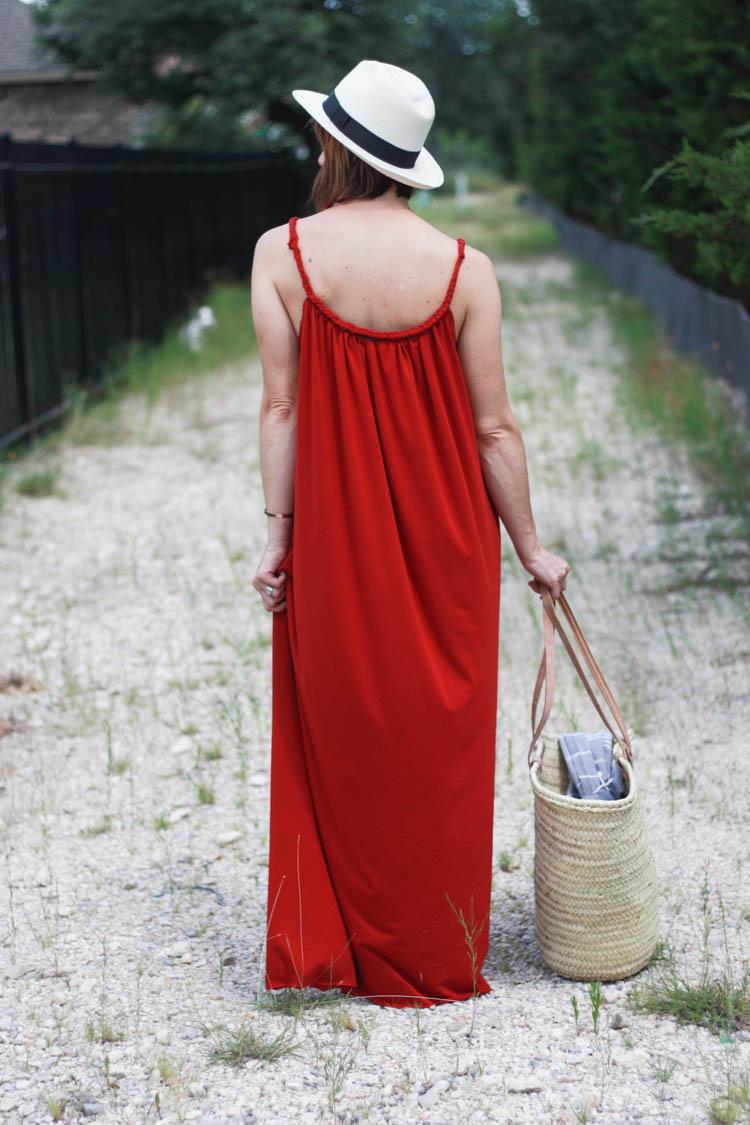 Braided Boho Sundress- One Little Minute Blog-6