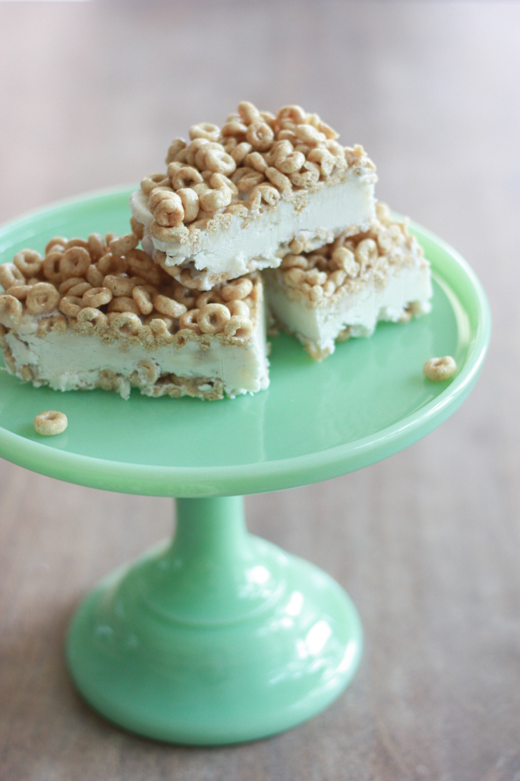 Cheerios Ice Cream Bars - One Little Minute Blog-12