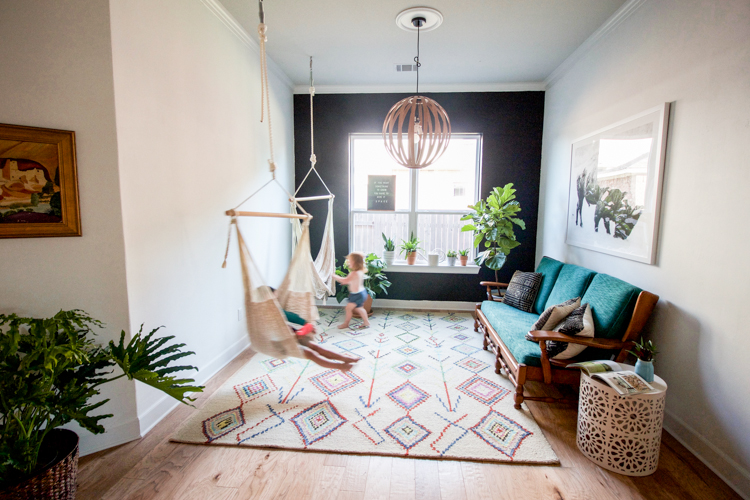 Indoor Patio Room - One Little Minute Blog-5