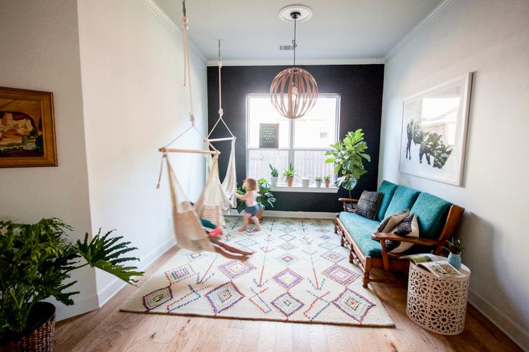 Beau Indoor Patio Room   One Little Minute Blog 5 ...