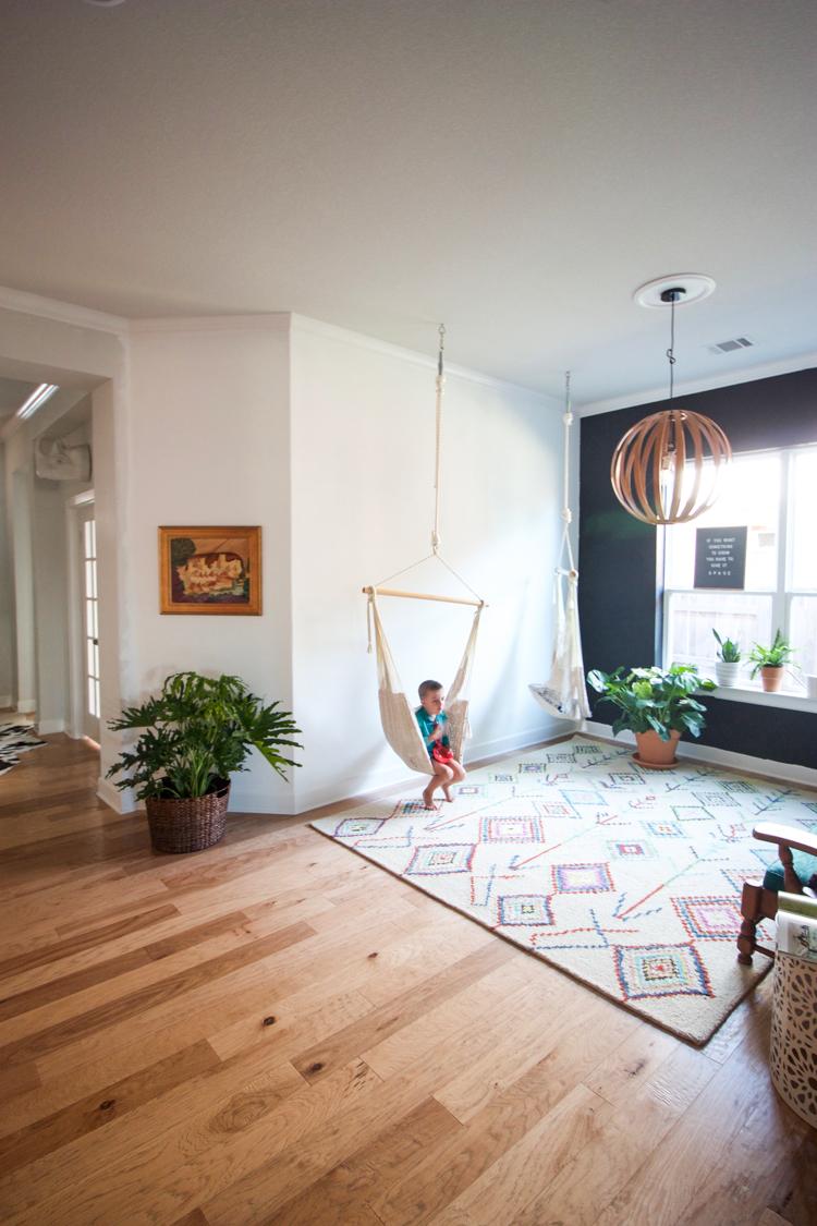 Ordinaire Indoor Patio Room   One Little Minute Blog 9 ...