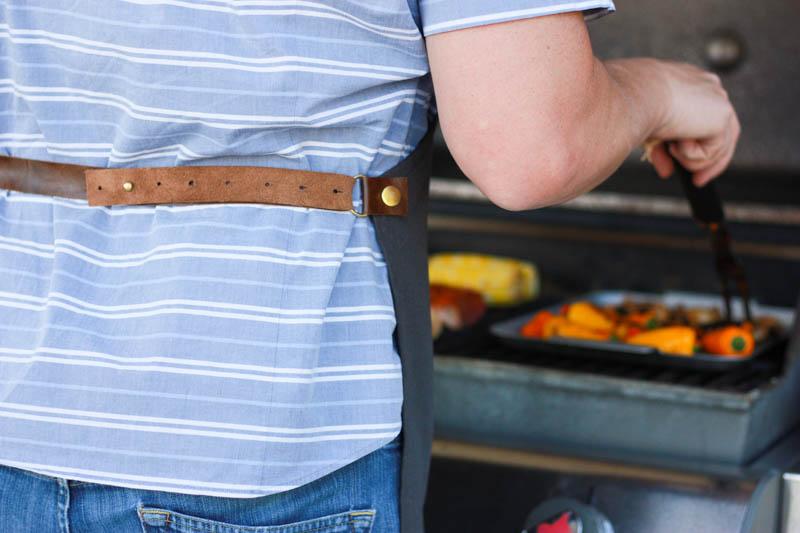 No Sew Leather Apron- Miranda Anderson for World Market-9