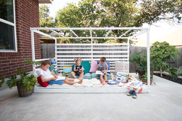 Outdoor Reading Nook - One Little Minute Blog-16